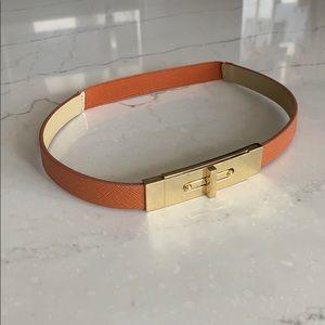 Express cognac brown belt